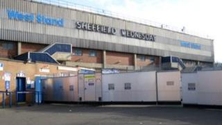 Barrier to segregate fans at Hillsborough