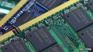 DRAM memory chip