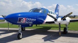 Ordnance Survey aircraft
