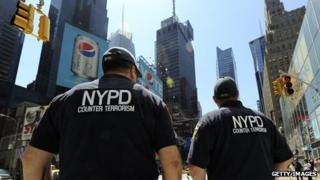 NYPD counter-terrorism officers