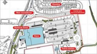 Proposed Tesco plan