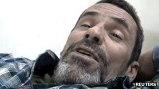 Grab from video of British photographer Paul Conroy in Homs on 22 February 2012
