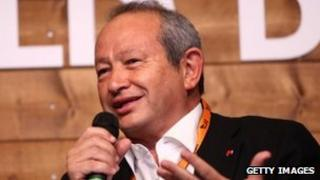 Naguib Sawiris (23 January 2012)