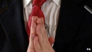 Clasped hands - generic