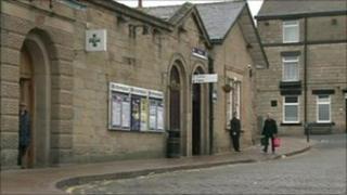 Glossop Station