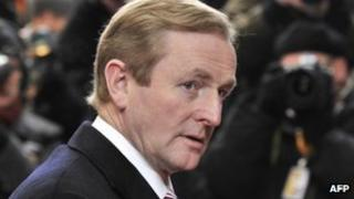Ireland's Prime Minister Enda Kenny (30 Jan 2012)