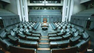 File photo Australia senate