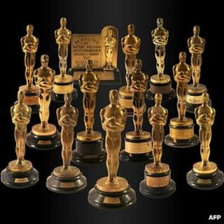 The 15 Oscars up for sale at Nate D Sanders auction house