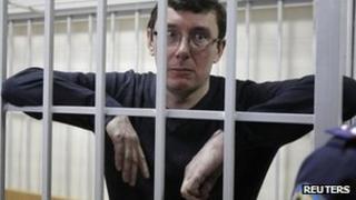 Yuri Lutsenko in court in Kiev, 27 February