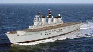 HMS Illustrious. Photo: Royal Navy