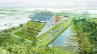 Proposed waste plant at Llanwern