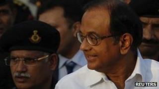 Indian Home Minister Palaniappan Chidambaram - 23 February 2012 file photo