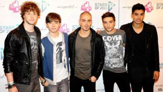 The Wanted have been storming the US charts.