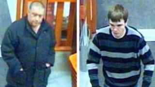 Burglar alarm thieves