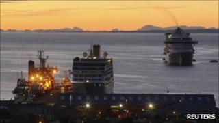 Cruise ships dock in Chile a day after being turned away by Argentina