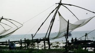 File picture of Kerala fishing nets