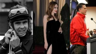 Davy Jones, Angelina Jolie, Mitt Romney