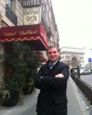 Thomas Kane in Paris