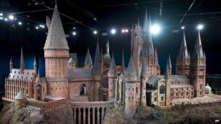 Hogwarts castle goes on show