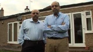 Amir (left) and Fardeen Valimohamed