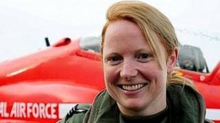 Flt Lt Kirsty Stewart