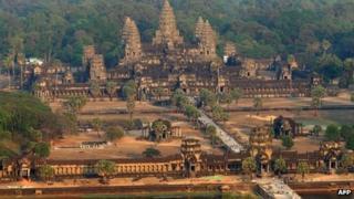 Cambodia's Angkor Wat - file photo
