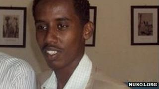 Ali Ahmed Abdi (Photograph courtsey of www.nusoj.org)