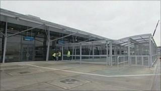 New passenger terminal building at Southend Airport