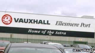Ffatri Vauxhall Ellesmere Port