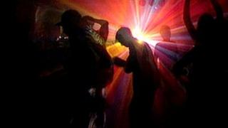 Scene from a rave