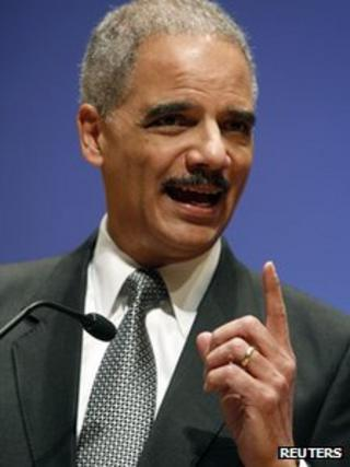 US Attorney General Eric Holder [5 March 2012]