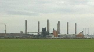 Alcan plant at Lynemouth