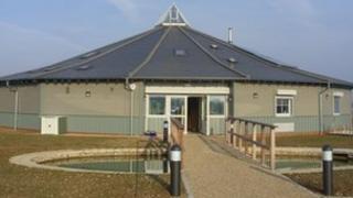 The new Essex Wildlife Trust visitor centre at Abberton Reservoir