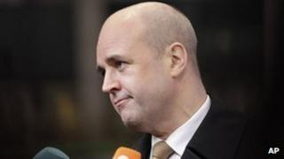 Swedish PM Fredrik Reinfeldt