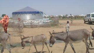 Evenproducts water tank in Darfur