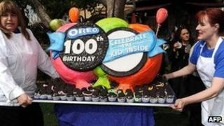 Oreo celebrations in Los Angeles
