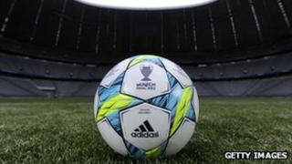 Adidas expects the UEFA 2012 Championships to help boost sales