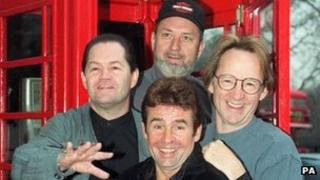 The Monkees, pictured in 1997