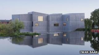 The Hepworth Wakefield art gallery