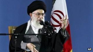 Ayatollah Ali Khamenei (file)