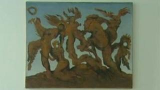 La Horde, a work attributed to Max Ernst that was found to be forged