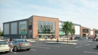 Plans for M&S store at Scunthorpe. Picture: Simons Development