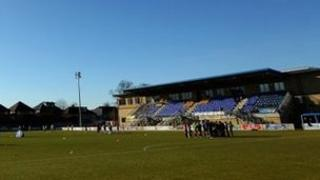 Staines Town FC ground