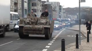 Tank on Jersey street