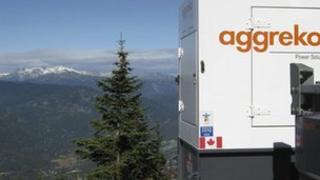 aggreko power unit