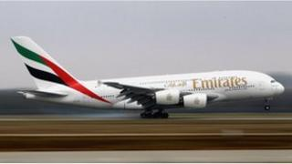 Emirates has ordered a total of 90 of the A380 jets