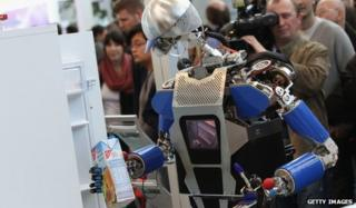 Karlsruhe Institute of Technology's robot