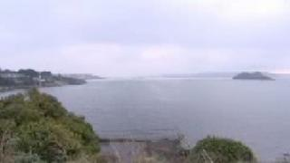 Devil's point and Drake's Island, Plymouth