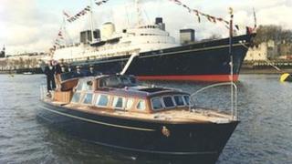The Royal Yacht Britannia's Royal Barge