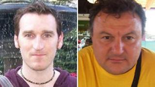 Chris McManus and Franco Lamolinara
